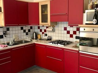 Rivestimento Cucina con 3M DINOC PS Rosso